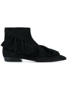 ботинки с оборками J.W.Anderson
