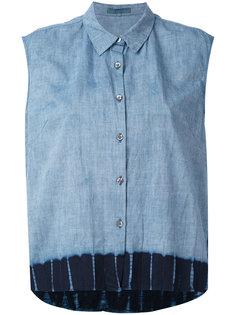джинсовая рубашка без рукавов  Suzusan