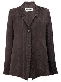 расклешенный пиджак  Uma Wang