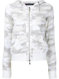 camouflage drawstring hoodie Loveless