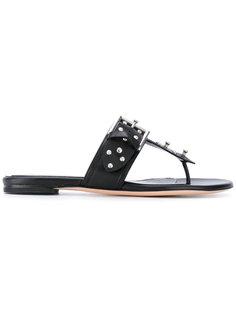 сандалии с заклепками Alexander McQueen