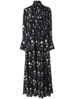 расклешенное длинное платье Dandelion Kenzo