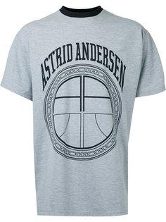 футболка с логотипом Astrid Andersen