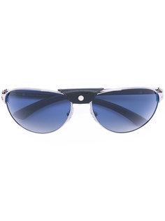 солнцезащитные очки с заклепкой на мосту Cartier