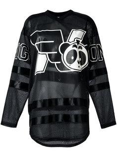 свитер с принтом logo hockey Nicopanda