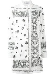 удлиненная рубашка с принтом Gaelle Bonheur