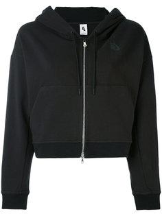 cropped zip hoodie Nike