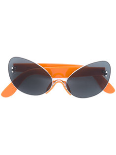 солнцезащитные очки в оправе кошачий глаз Marco De Vincenzo