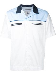 slip pocket bowling shirt Andrea Pompilio