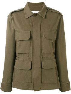 куртка в стиле милитари с бахромой Ava Adore