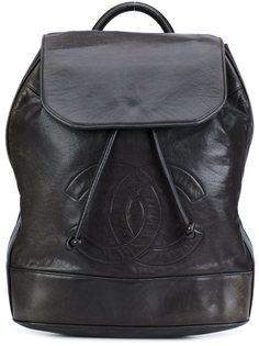 рюкзак с логотипом Chanel Vintage