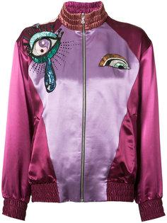 куртка-бомбер с вышивкой Marc Jacobs