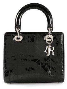 сумка-тоут Lady Dior средних размеров Christian Dior Vintage