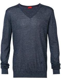 свитер с V-образным вырезом Isaia