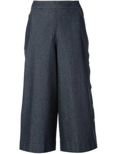 wide leg cropped pants Vanessa Seward