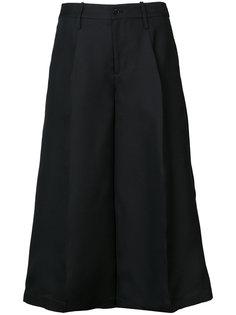 wide leg cropped pants Co