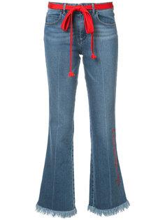 джинсы с необработанными краями Sonia Rykiel