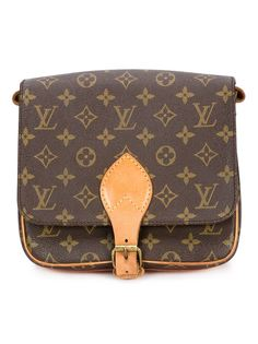 сумка через плечо с монограммным принтом Louis Vuitton Vintage