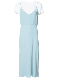 layered midi dress Zimmermann