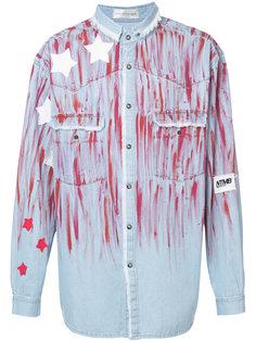 джинсовая рубашка с принтом звезд Faith Connexion
