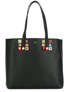 сумка с объемной отделкой Fendi