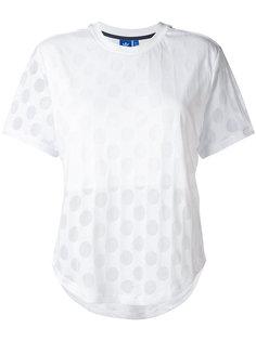 футболка с узором в горох Adidas