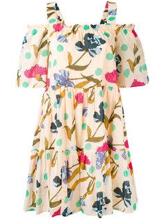 платье с вырезами на плечах Essentiel Antwerp