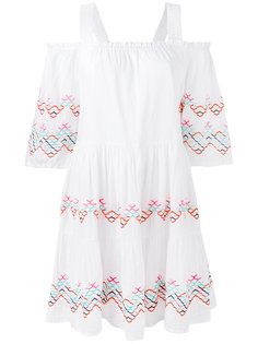платье с вырезами на плечах и вышивкой Essentiel Antwerp