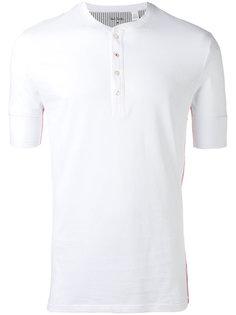 футболка с застежкой на пуговицы Paul Smith