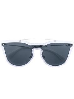 декорированные солнцезащитные очки Valentino Garavani Rockstud Valentino