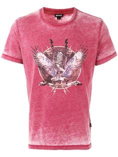 футболка с принтом микрофона Just Cavalli