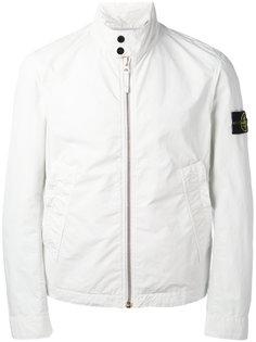 укороченная куртка с воротником-стойкой Stone Island