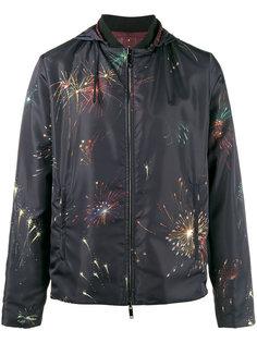 двусторонняя куртка с принтом фейерверков Valentino