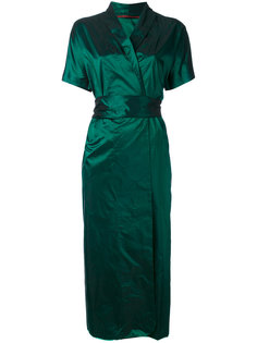 платье с металлическим отблеском Daniela Gregis