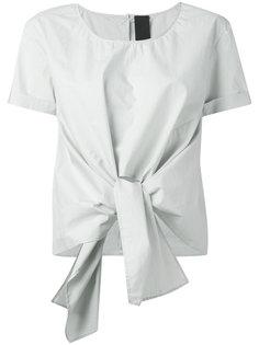 футболка с вырезом спереди Rundholz