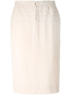 high waisted skirt Jean Louis Scherrer Vintage