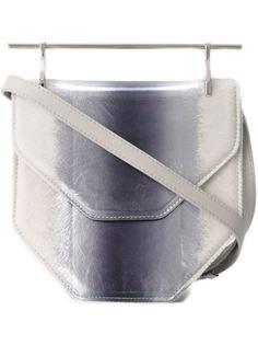 сумка на плечо с металлической ручкой M2malletier