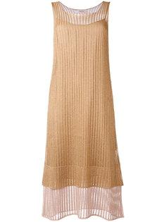 многослойное платье миди  Jucca