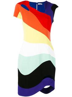 платье с вырезными деталями Mugler