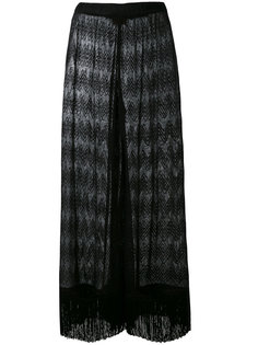 прозрачные брюки Missoni