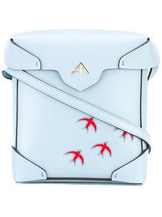 сумка-сэтчел через плечо Manu Atelier