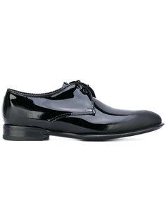ботинки Дерби с эффектом поношенности Alexander McQueen