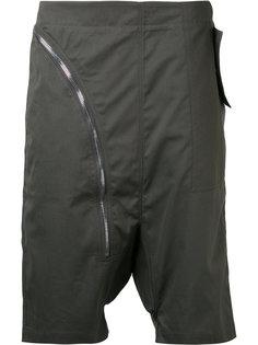 шорты с заниженной проймой Rick Owens DRKSHDW
