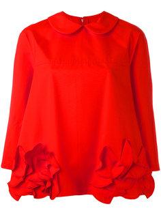 блузка с цветочным украшением Comme Des Garçons Comme Des Garçons