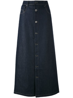 buttoned maxi skirt Diesel Black Gold