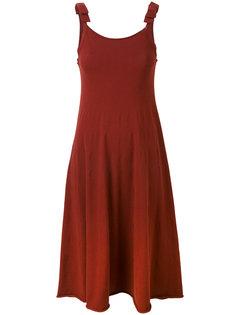 платье с бантами на лямках Twin-Set