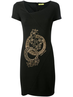 studded graphic dress Versace Jeans