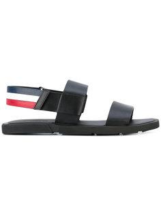 сандалии с ремешками Moncler