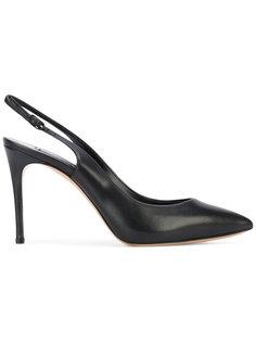 туфли с ремешком сзади Casadei