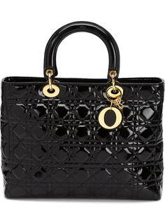 сумка-тоут Lady Dior Christian Dior Vintage